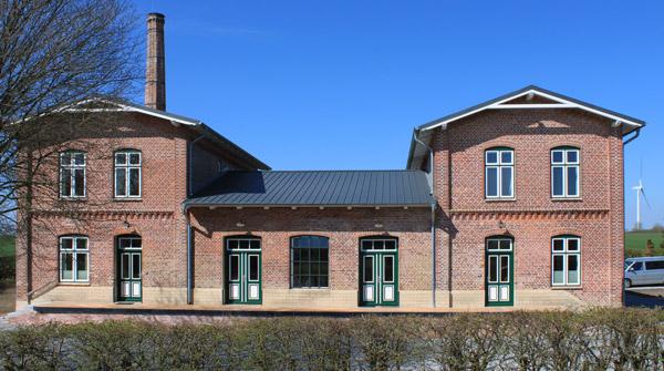 Die Alte Meierei im Frühjahr 2021