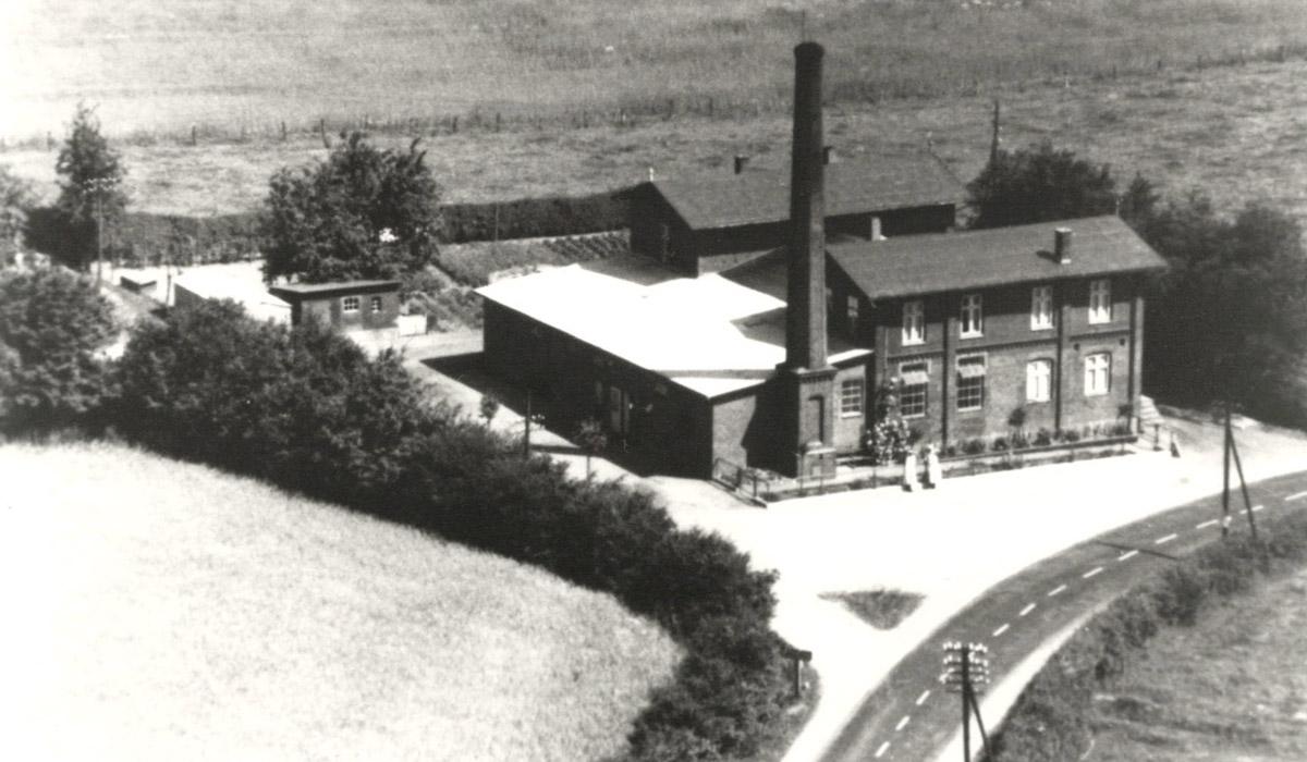 Die Alte Meierei um das Jahr 1955